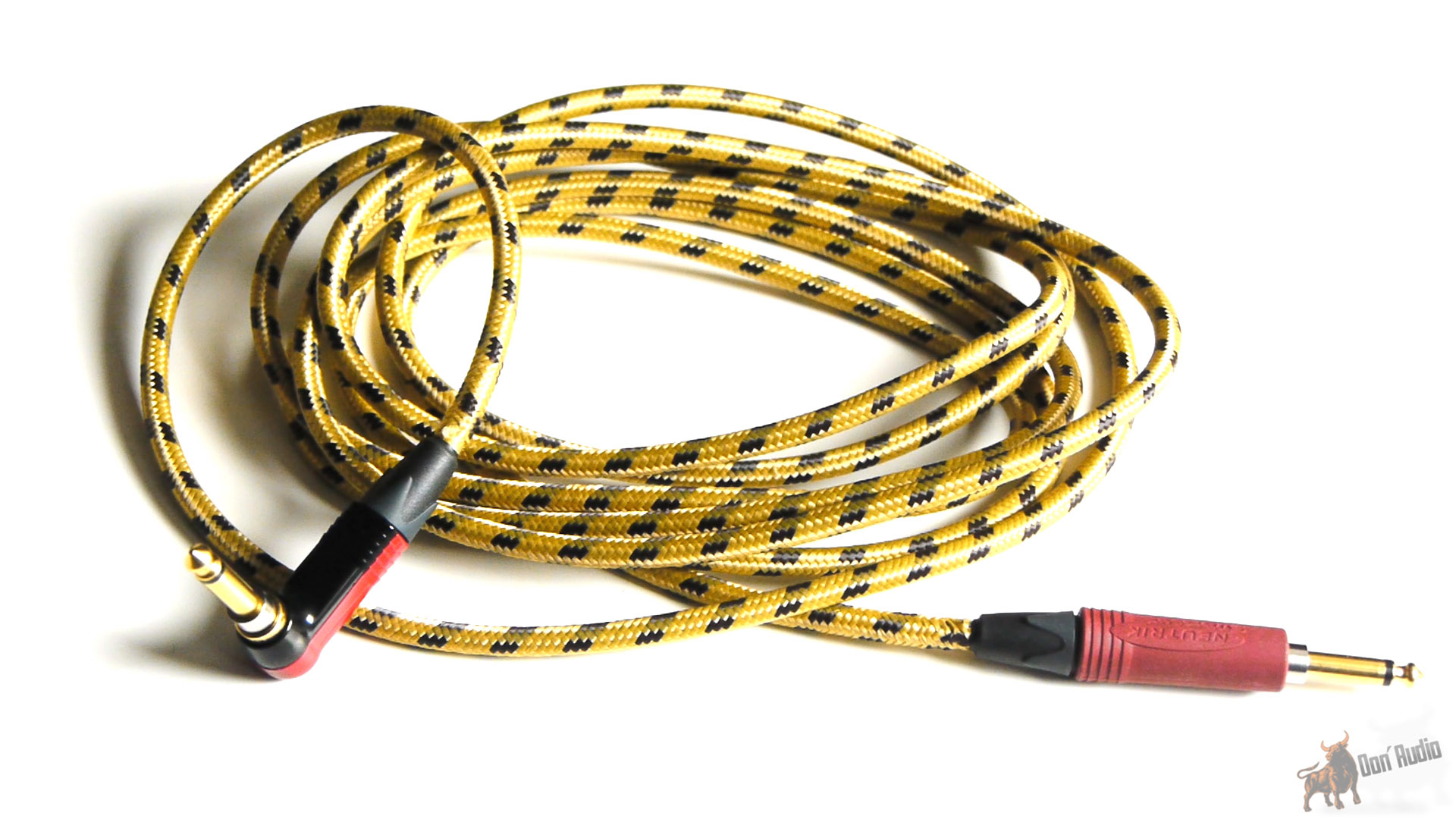 don-audio ghost guitar cable - neutrik silent