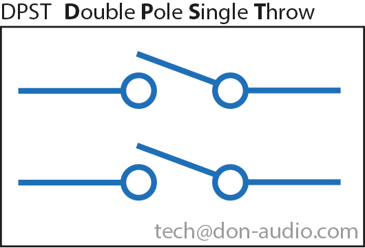 DPST Double Single Double Throw