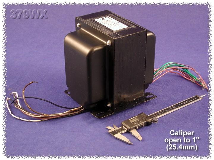 hammond 370bx power transformer pri 50  60hz  55va  76 44