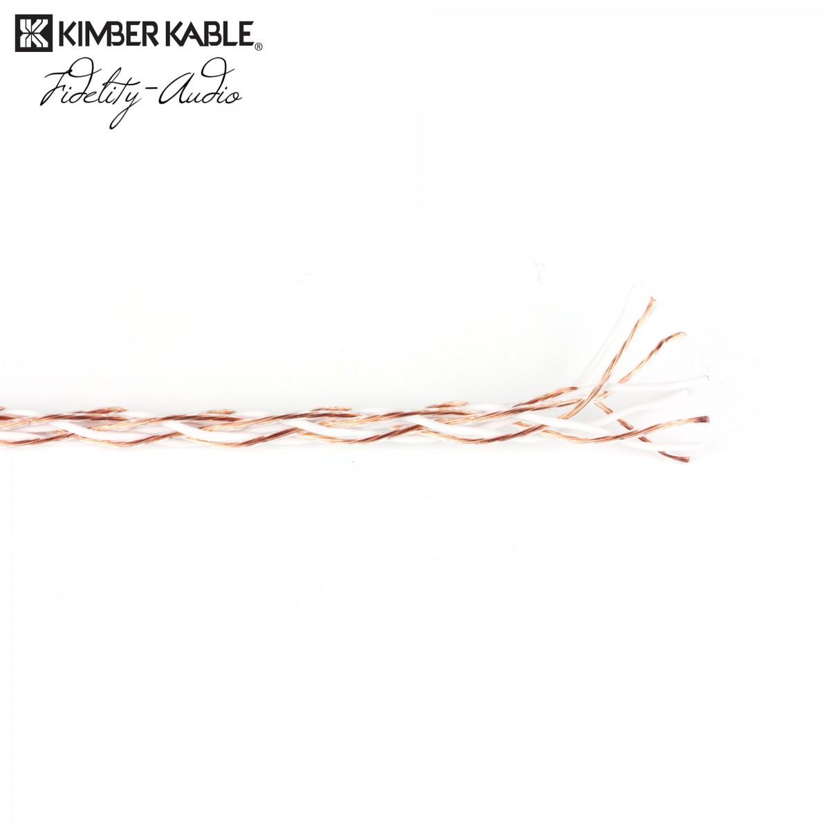 Kimber KK-TC geflochtenes Lautsprecherkabel Hyper Pure, Reinkupfer, w