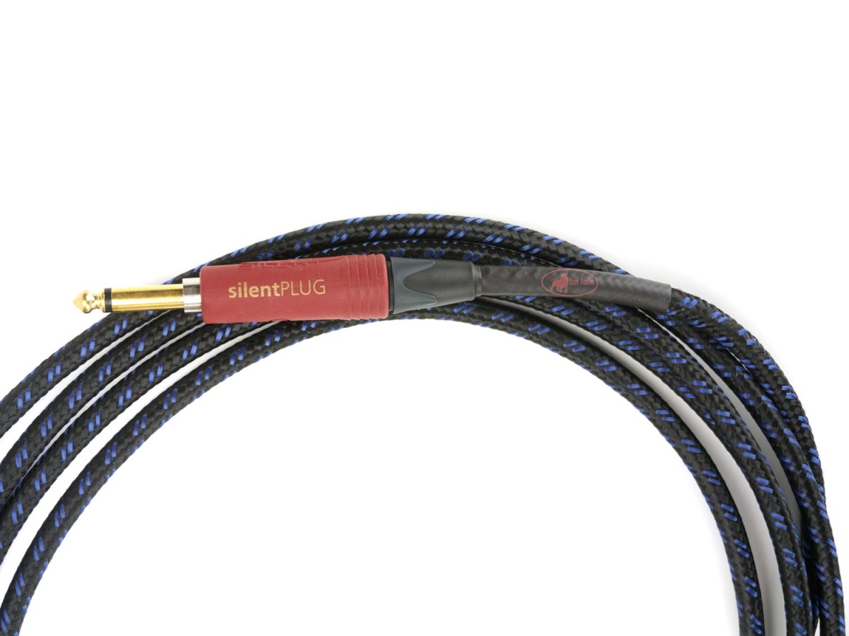 Blue Ghost - Silent Guitar Cable for Studio and Stage, made in Germany