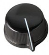 Daka-Ware Pointer Control Knob 1470 Black
