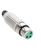 AG PLT 3 PIN NI PLT Connector