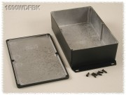 Watertight Diecast Enclosure, Flanged Base 119x187x52 mm,...