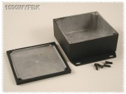 Watertight Diecast Enclosure, Flanged Base 92x92x38 mm,...