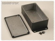 Watertight Diecast Enclosure, Flanged Base 95x121x57 mm,...