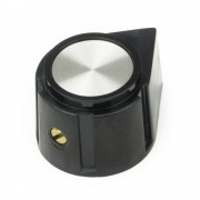 Daka-Ware Bakelite Pointer Knob with metal cap