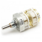 Elma Rotary switch Type 04 Eyelets 2 Wafer 2 x 12...