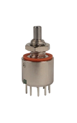 Elma MR50 1/2 miniatur 1 x 10 rotary switch, 36°...