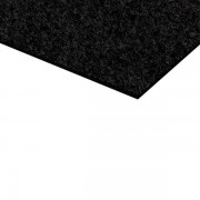 Felt self-adhesive black