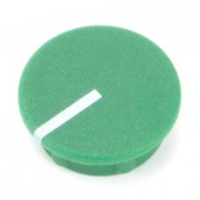 British Collet Knob Caps With Spot Green 15mm