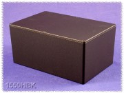 Hammond Diecast Aluminum Enclosure black 222x146x101mm