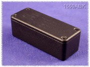 Hammond Diecast Aluminum Enclosure black 89x35x26mm