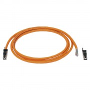 Network cable CAT7, 8, RJ45 open end