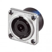 Neutrik NL8MPR Speakon 8 pole chassis connector, nickel...