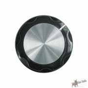 Black Knob, Aluminum plate 33mm