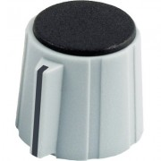 Sifam Collet Knob 15mm with Nose, Grey
