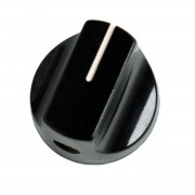 Bakelite vintage turning Knob, black
