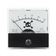 Vintage-Meters Bone Head SKULL SK-20 Audio VU-Meter