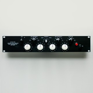 2HE Frontpanel - EQP-1A Look engraved - Anodized Version