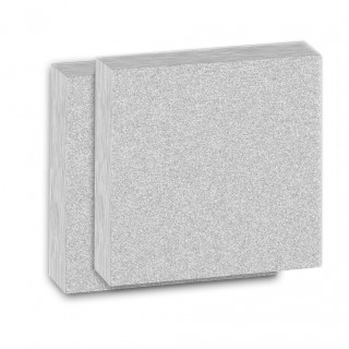 2 Panels CARUSO-ISO-BOND® 100mm WLG 035 Squared Absorber panel...
