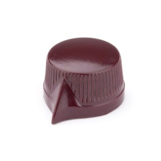 Daka-Ware Pointer Knob wine-red