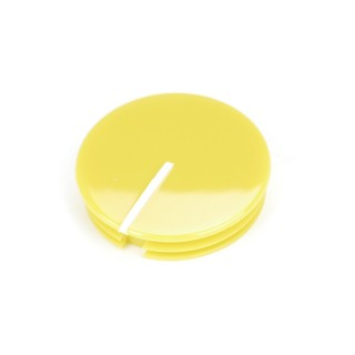 Classi Collet Knob Cap 28mm Yellow Glossy Indicator line