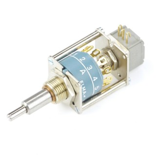 Elma Rotary switch Type 01 Concentric with 10k Linear Potentiometer