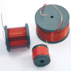 Mundorf MCoil FERRITE H Drum-Core · Copper Wire 1,00mm baken lack