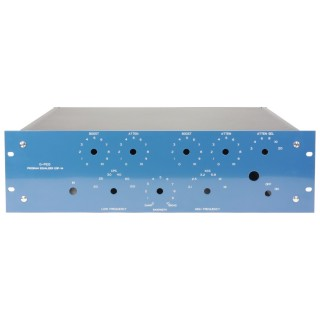 Equalizer 3HE Frontpanel - G-Pultec frequencies