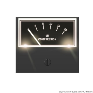 VU-Meter S-500 dB Kompression