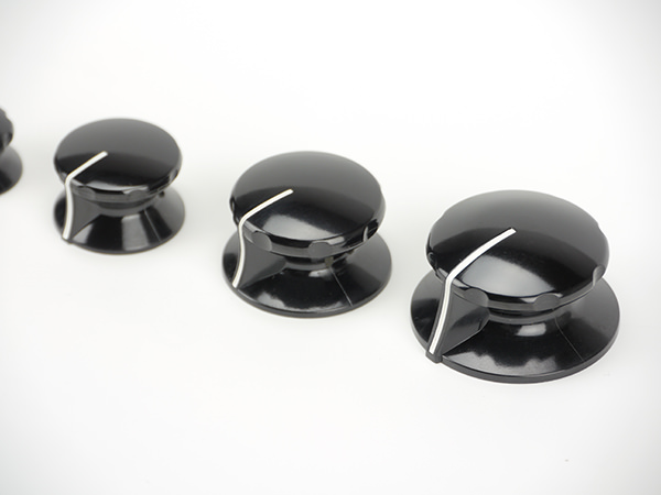 Knob collection fester bakelite black