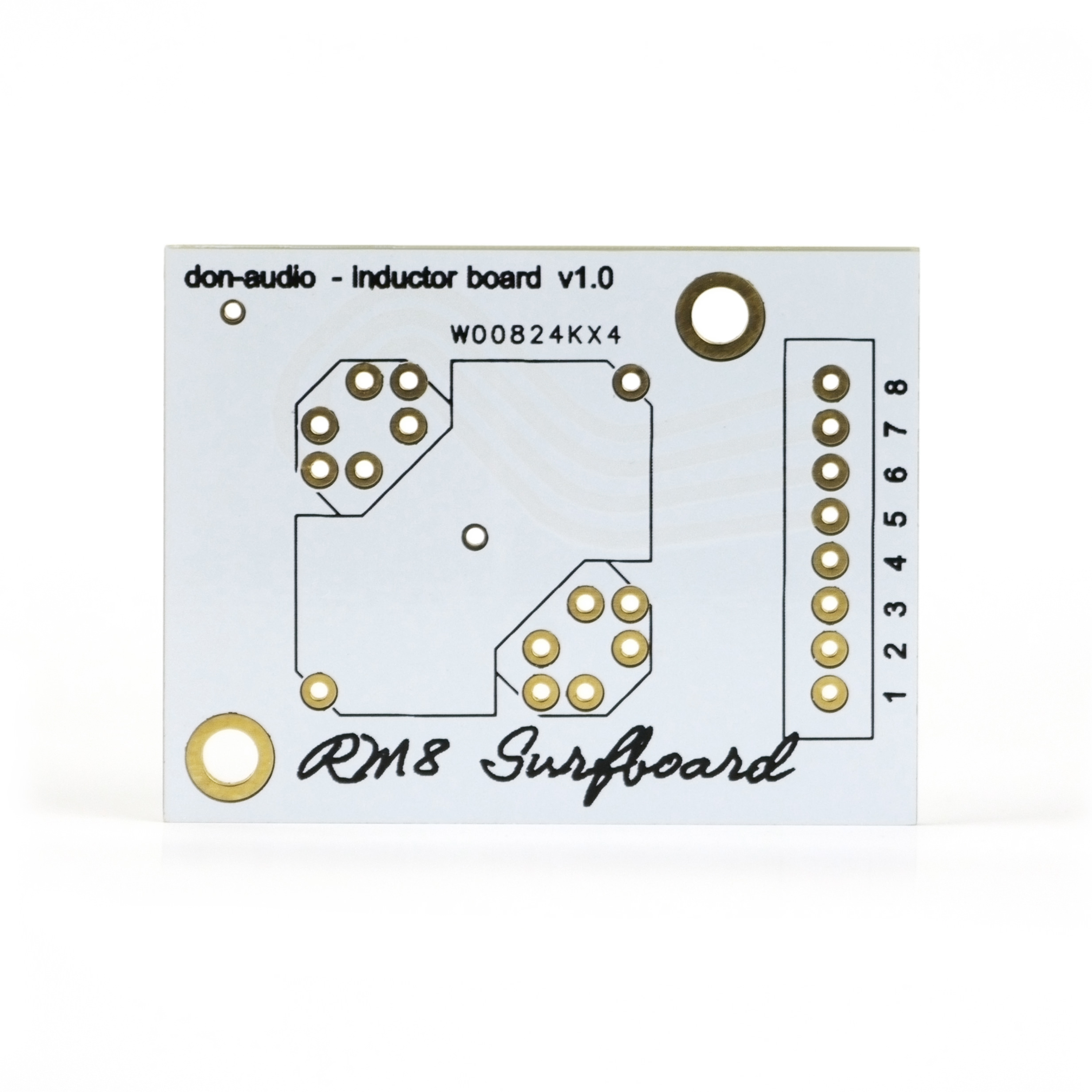RM8 Inductor Board Don-Audio Surfboard PCB