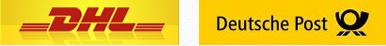 Don-Audio versendet mit DHL und Deutsche Post