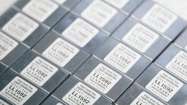 Lundahl ll1592 audio transformers