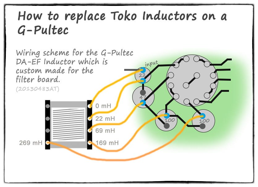 g-pultec inductor wiring